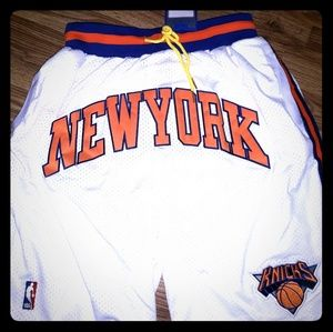 Just Don New York Knicks Basketball Shorts NBA